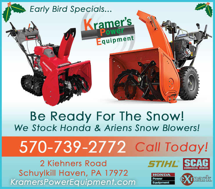 Snow Blowers - Honda Ariens - Kramers Power Equipment